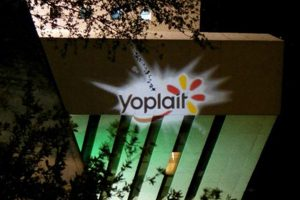 Make your corporate event sponsors happy with a custom gobo projection