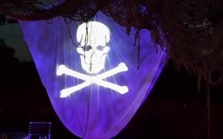 spooky lighting effects for Halloween