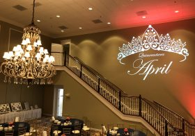 Personalize Special Occasions with a Monogram Gobo