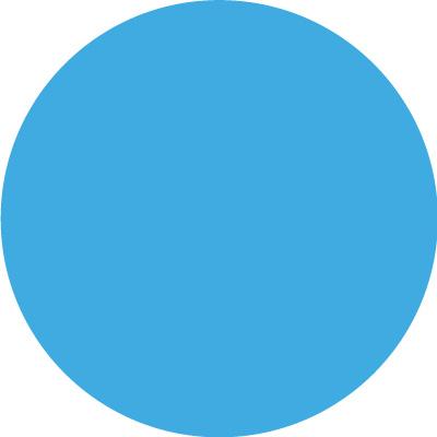 Dichroic Filter Rosco Permacolor 1065 Mediterranean Blue