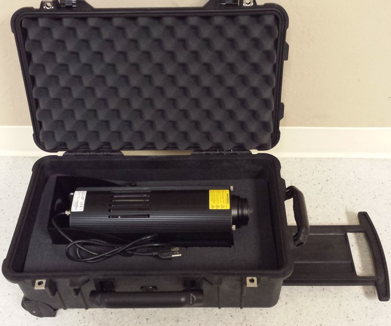 Carry On Pelican Case 1510 for Eco Spot 40, 40C, 40E, 70, etc