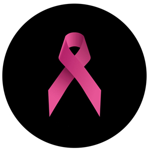 Breast Cancer Awareness Ribbon Shaded Pink - GSG S1083-2c