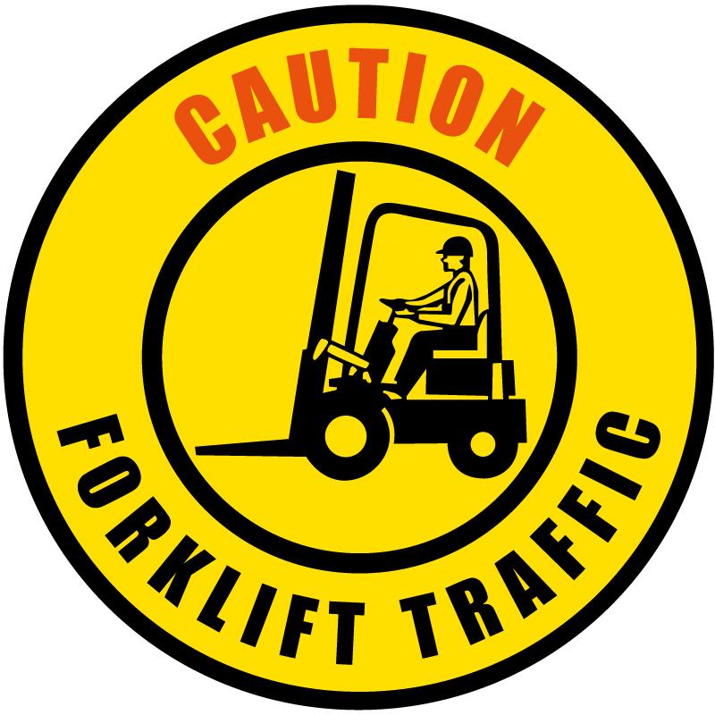 Forklift Traffic Caution Gobo S1090-2c