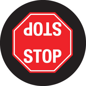 STOP Sign 2-Way Gobo S1121-2c