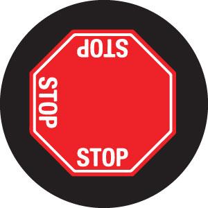 STOP Sign 3-Way Gobo S1122-2c
