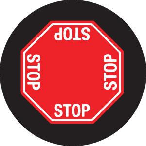 STOP Sign 4-Way Gobo S1123-2c