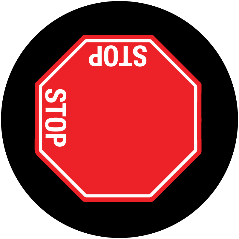 STOP Sign 2-Way L-Config. Gobo S1129-2c