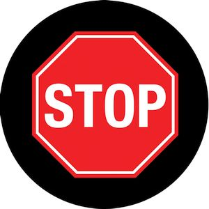 STOP Sign Gobo S1085-2c