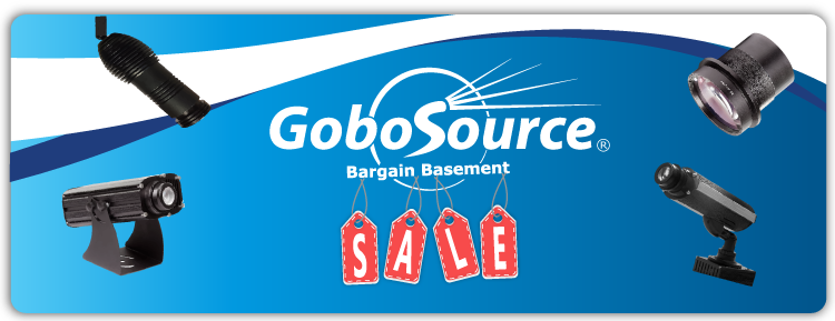 GoboSource Bargain Basement Banner